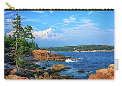 Along The Coast In Acadia National Park Carry-all Pouch