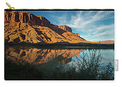 Carry-all Pouch featuring the photograph Along The Colorado by Gary Lengyel