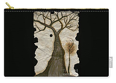 Along The Crumbling Fork In The Road Of The Tree Of Life Acfrtl Carry-all Pouch by Talisa Hartley