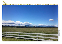 Along The Fence Line Carry-all Pouch