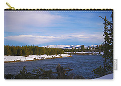 Along The Madison River Carry-all Pouch
