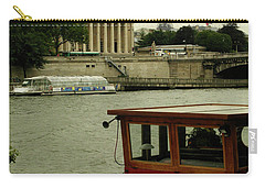 Along The Seine Carry-all Pouch