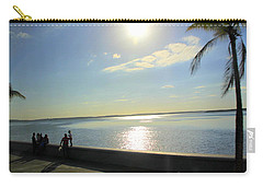 Along The Malecon In Cienfuegos, Cuba Carry-all Pouch