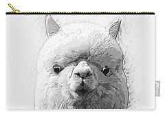 Alpaca  Carry-all Pouch by Taylan Apukovska
