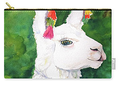 Alpaca With Attitude Carry-all Pouch