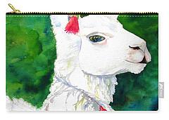 Alpaca With Attitude Carry-all Pouch by Carlin Blahnik