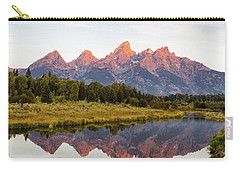 Alpen Glow Carry-all Pouch by Mary Hone