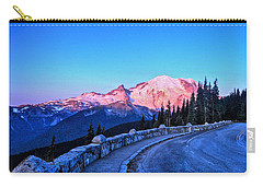 Alpenglow At Mt. Rainier Carry-all Pouch