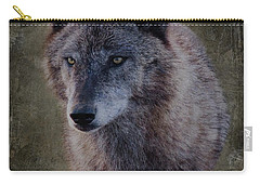 Alpha Wolf Portrait Carry-all Pouch