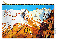 Alpine Landscape Carry-all Pouch by Henryk Gorecki