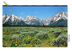 Alpine Meadow Teton Panorama II Carry-all Pouch