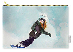 Alpine Meadows Carry-all Pouch by Ed Heaton