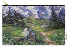 Alpine Splendor Carry-all Pouch by Megan Walsh