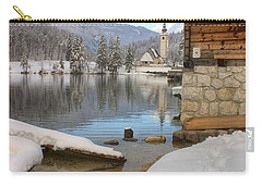 Alpine Winter Clarity Carry-all Pouch
