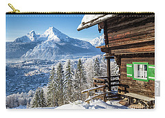 Alpine Winter Wonderland Carry-all Pouch