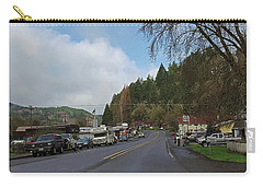 Alsea, Or Carry-all Pouch by Judy Wanamaker