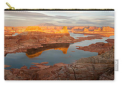 Carry-all Pouch featuring the photograph Alstrom Point Panorama by Dustin LeFevre