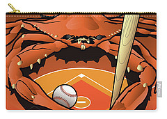 Baltimore Orioles Baseball Crab Maryland Carry-all Pouch