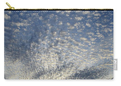 Carry-all Pouch featuring the photograph Altocumulus Clouds  by Lyle Crump