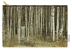 Alvarado Cemetery 42 Carry-all Pouch by Marie Leslie