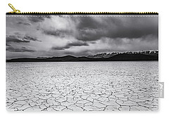 Carry-all Pouch featuring the photograph Alvord Desert by Cat Connor