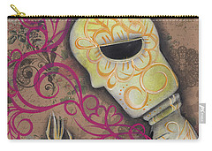 Always Alone  Carry-all Pouch by Abril Andrade Griffith