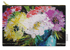 Carry-all Pouch featuring the painting Always Nice To Come Home To by John Williams