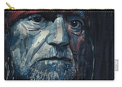 Always On My Mind - Willie Nelson  Carry-all Pouch by Paul Lovering