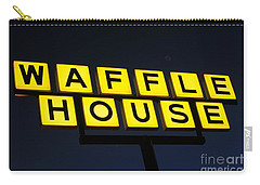 Always Open Waffle House Classic Signage Art  Carry-all Pouch