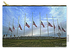 Always Remember Carry-all Pouch by Luther Fine Art