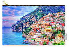 Amalfi Coast At Positano Carry-all Pouch by Dominic Piperata