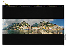 Carry-all Pouch featuring the photograph Amalfi by Steven Sparks