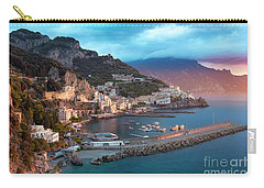 Amalfi Sunrise Carry-all Pouch by Brian Jannsen