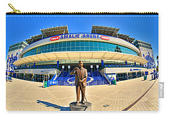 Carry-all Pouch featuring the photograph Amalie Arena by Lisa Wooten