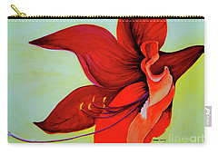 Amaryllis Blossom Carry-all Pouch