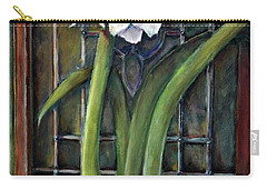 Amaryllis In The Window Carry-all Pouch by Bernadette Krupa