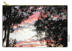 Amazing Clouds Black Trees Carry-all Pouch