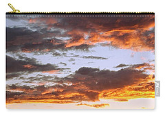 Glorious Clouds At Sunset Carry-all Pouch