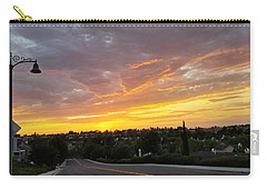 Colorful Sunset In Mission Viejo Carry-all Pouch