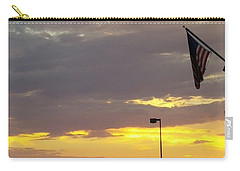 Patriotic Sunset Carry-all Pouch