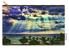 Amazing Grace - Sun Rays Before Sunset By Diana Sainz Carry-all Pouch