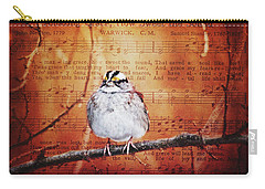 Carry-all Pouch featuring the photograph Amazing Grace by Trina Ansel