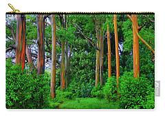 Amazing Rainbow Eucalyptus Carry-all Pouch