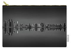 Amazing Sunset Panorama Reflection Of Dubai Marina, Dubai, United Arab Emirates Carry-all Pouch