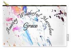 Amazing Wonderful Marvelous Grace Carry-all Pouch