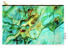 Carry-all Pouch featuring the painting Amazon by Dominic Piperata