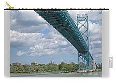 Ambassador Bridge - Windsor Approach Carry-all Pouch