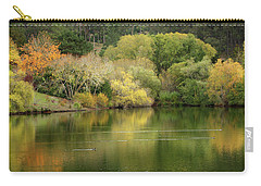Amber Days Of Autumn Carry-all Pouch by Marion Cullen