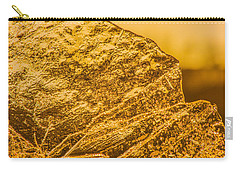 Amber Ice Abstract Carry-all Pouch