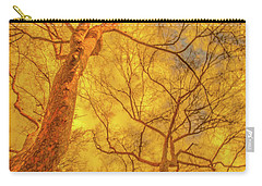 Amber Tree Abstract Carry-all Pouch by Bruce Pritchett